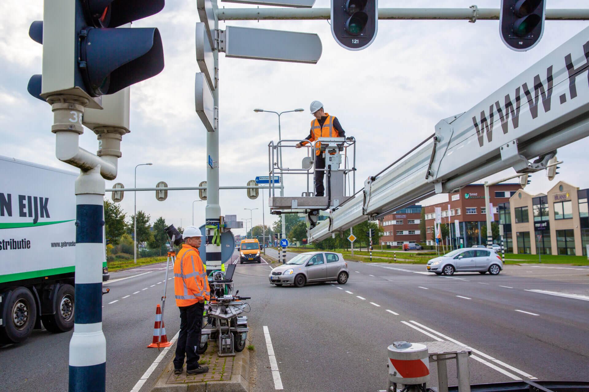 verkeersregelinstallaties controle
