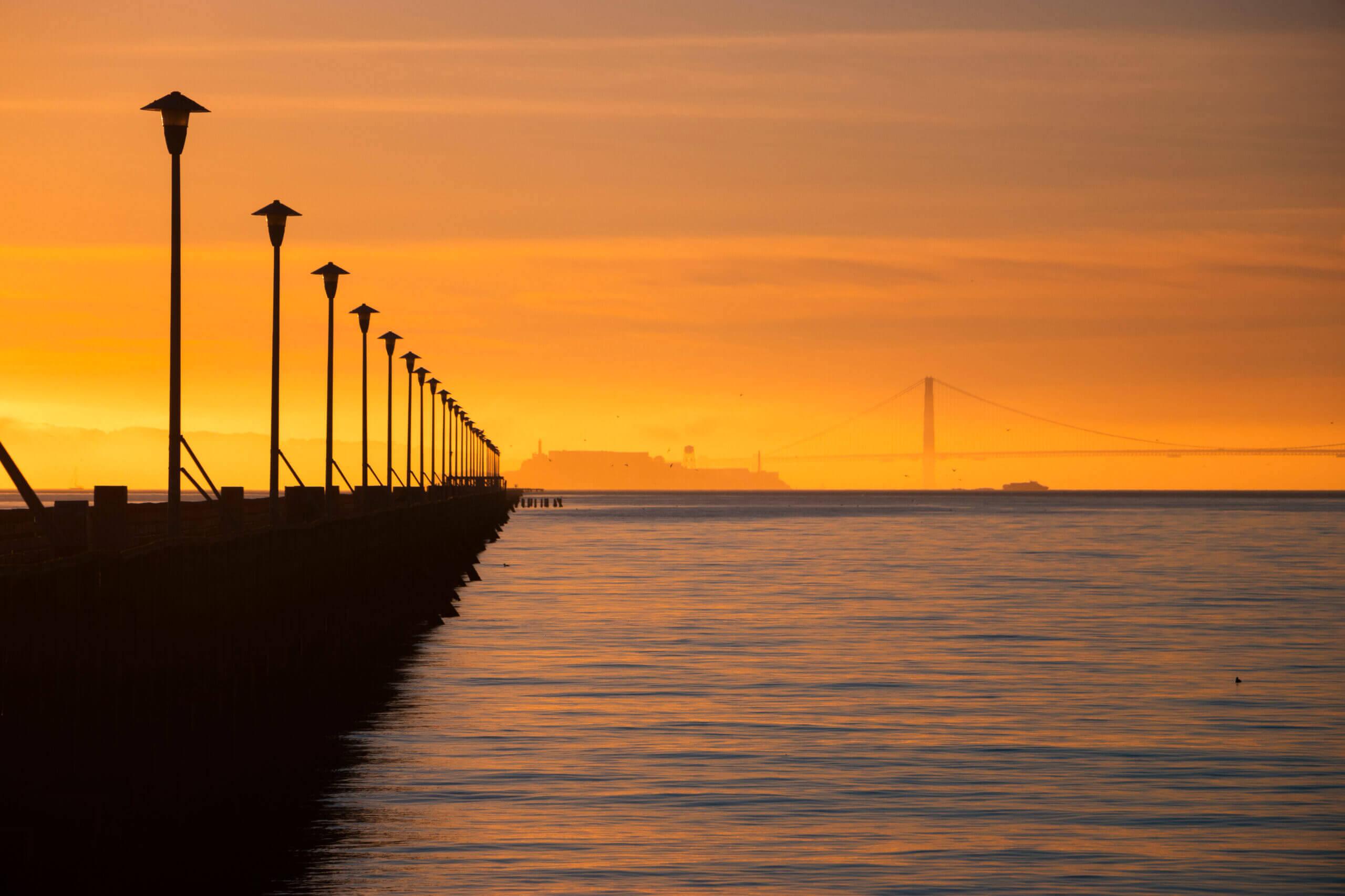 Canva - Silhouette of Bridge during Sunset (1)